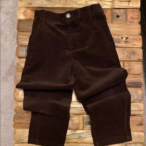 Brown corduroy pants for boys size 5T